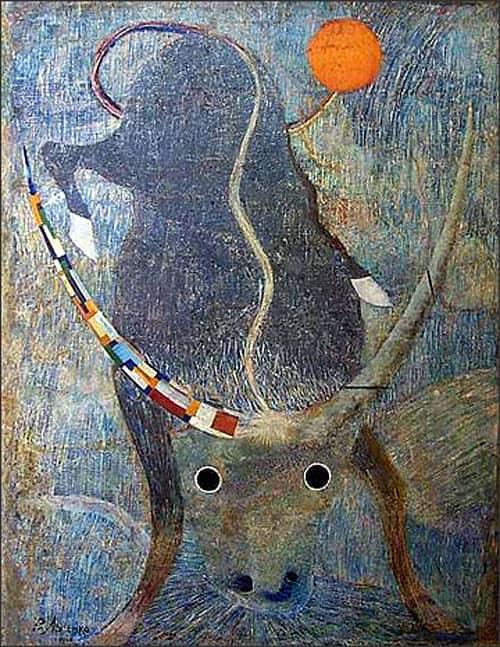 Lysenko, The Bull al Museo Savitsky a Nukus