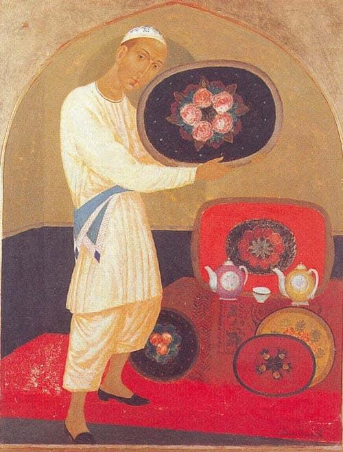Isupov, Oriental Tea House al Museo Savitsky a Nukus