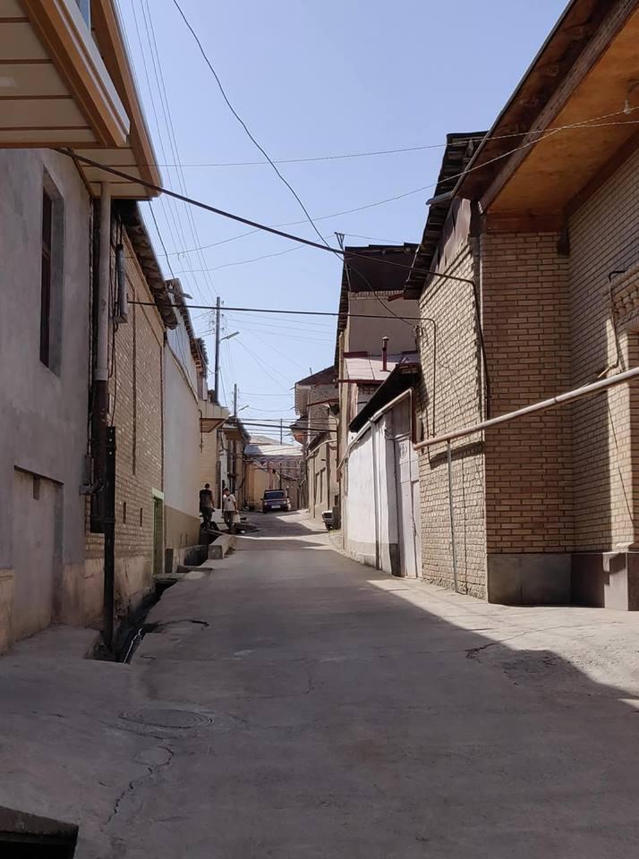 Il vecchio quartiere ebraico a Samarcanda