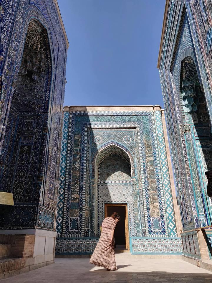 Shah-I-Zinda: gli ultimi tre mausolei del complesso