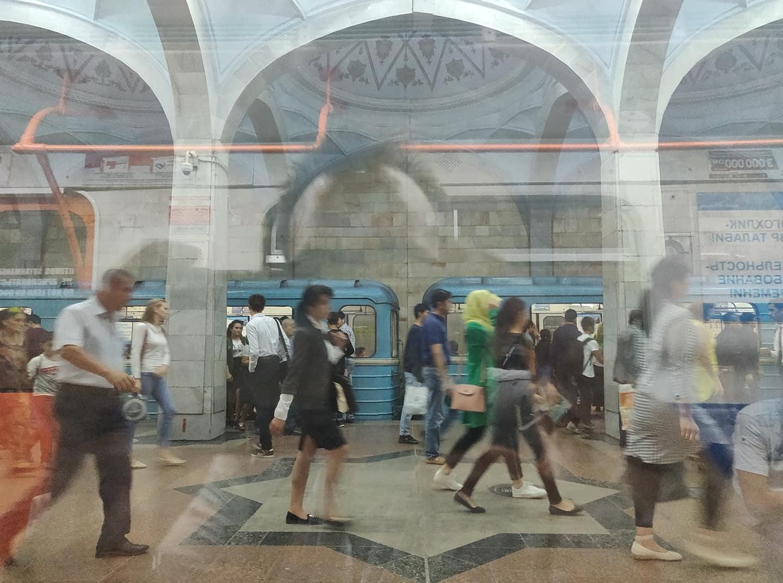 Le bellissime metro di Tashkent in Uzbekistan