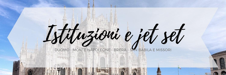 L'itinerario dedicato alla zona adiacente al duomo di Milano