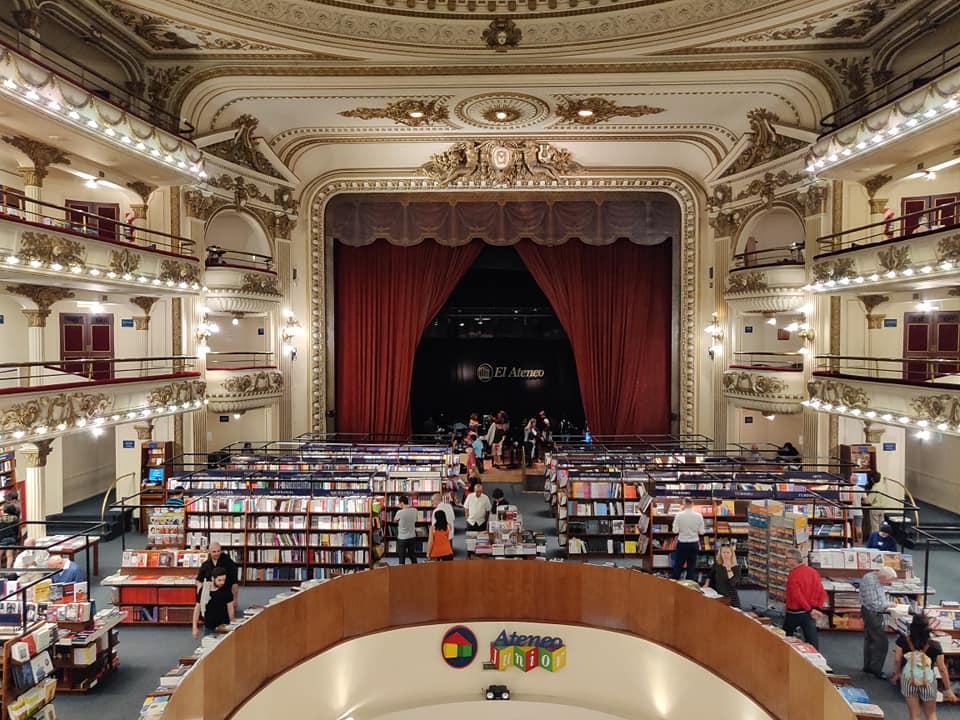 ateneo grand splendid, libreria meravigliosa nel cuore di Buenos Aires