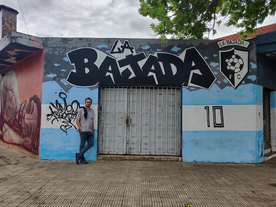 quartiere la bajada a Rosario, barrio di nascita di Messi