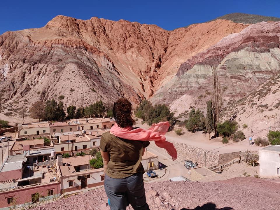la montagna dei 7 colori che domina Purmamarca