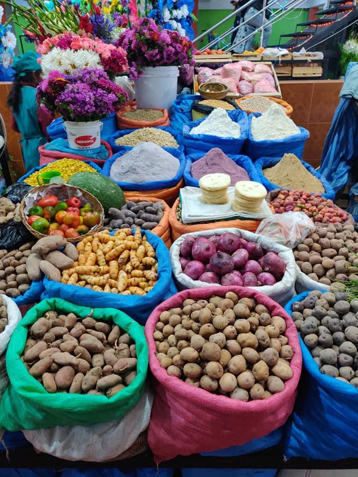 mercato di Villazon in Bolivia