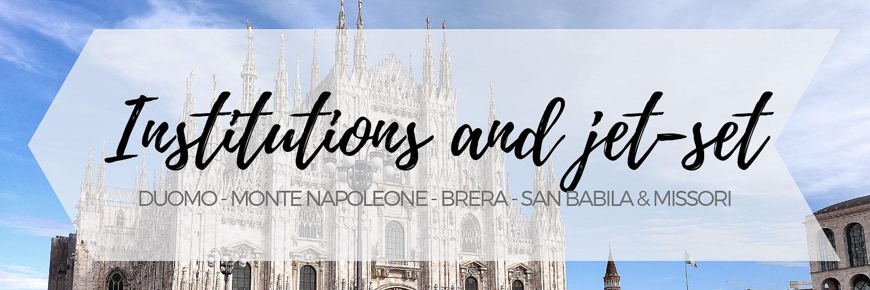 Itinerario tra Duomo e Brera, passando per San Babila