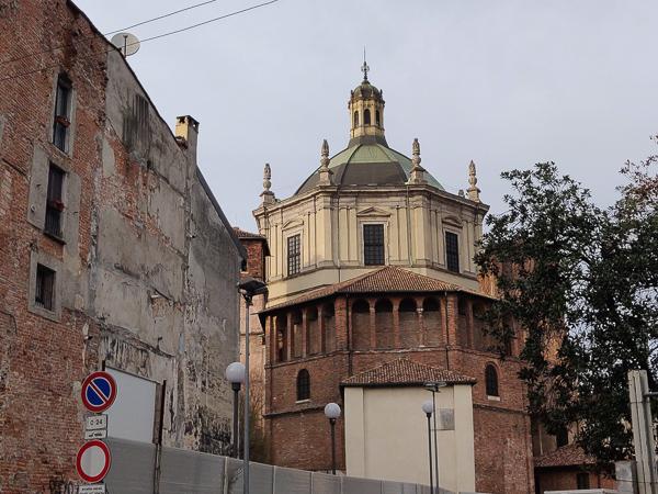 L'abside della chiesa di San Lorenzo