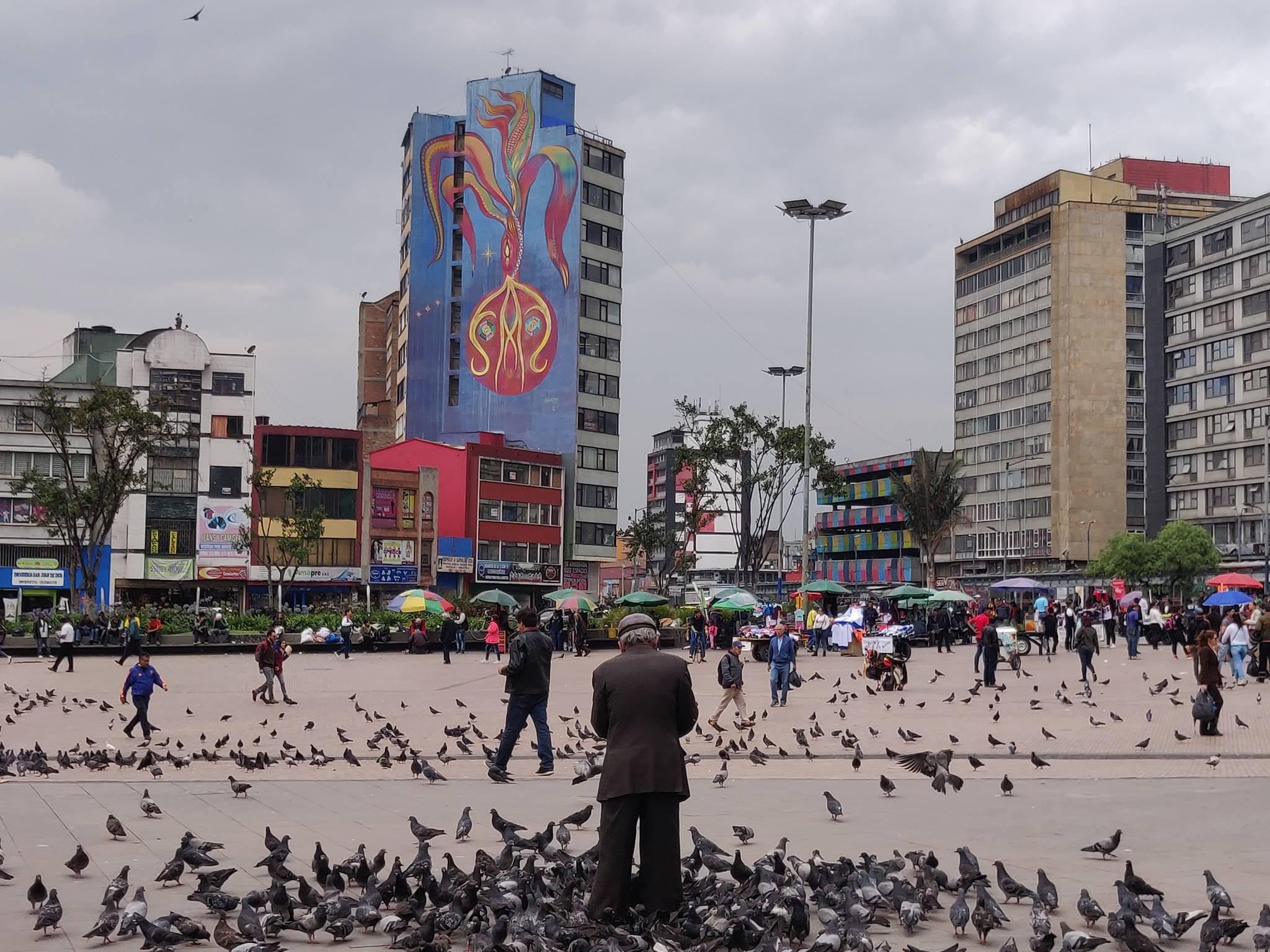 Plaza de San Victorino a Bogotà