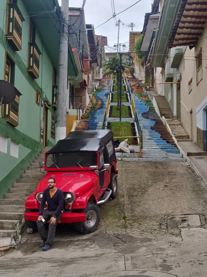 Una Scalinata di aguadas in Colombia