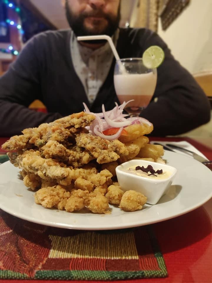 Delizioso piatto del ristorante la Real Cecina a Chachapoyas