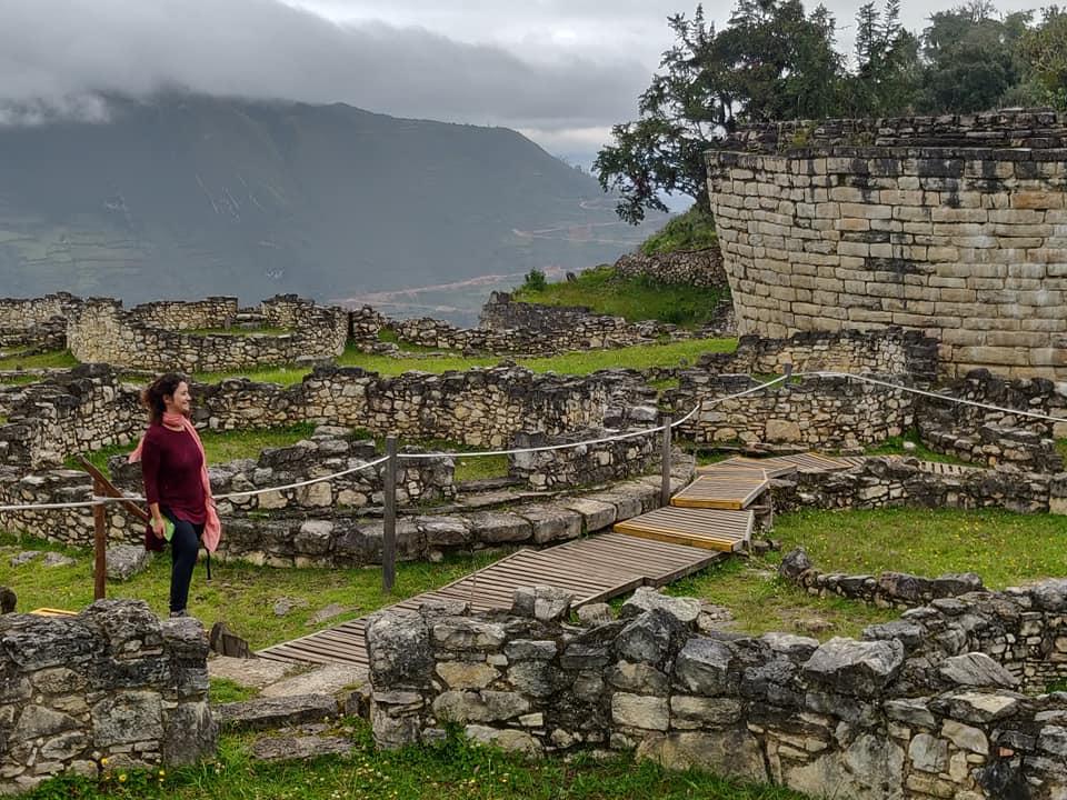 Le rovine di Kuelap vicino Chachapoyas nel dipartimento Amazonas in Perù