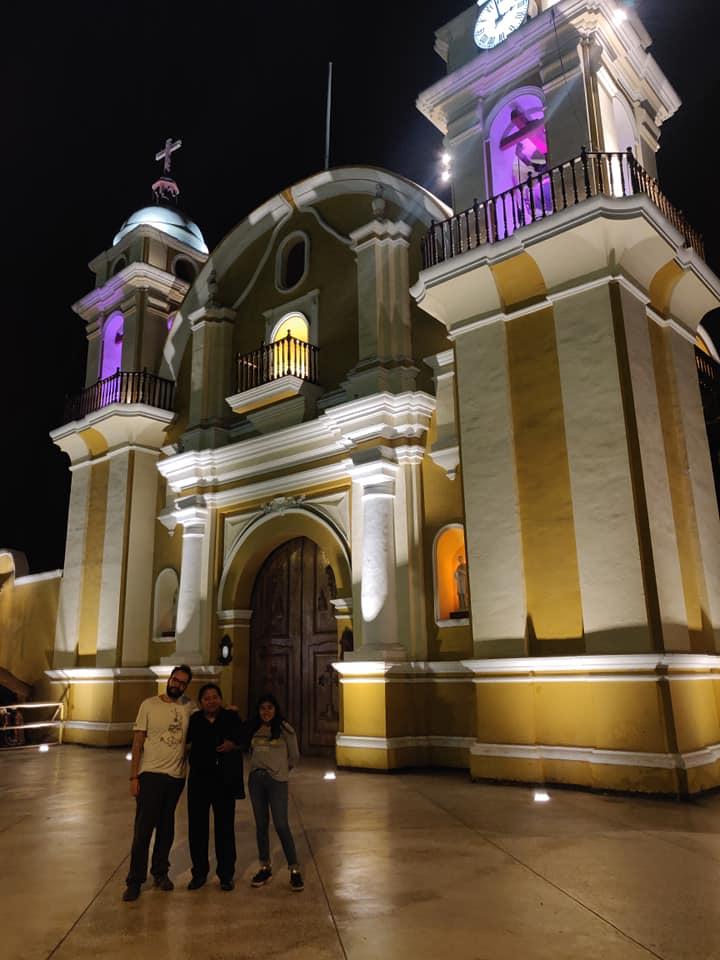 La cattedrale di Lurin, quartiere all'estremità sud di Lima