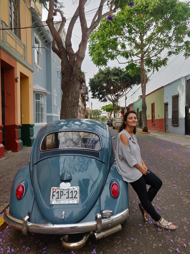 Per le vie di Barranco, quartiere di Lima in Perù