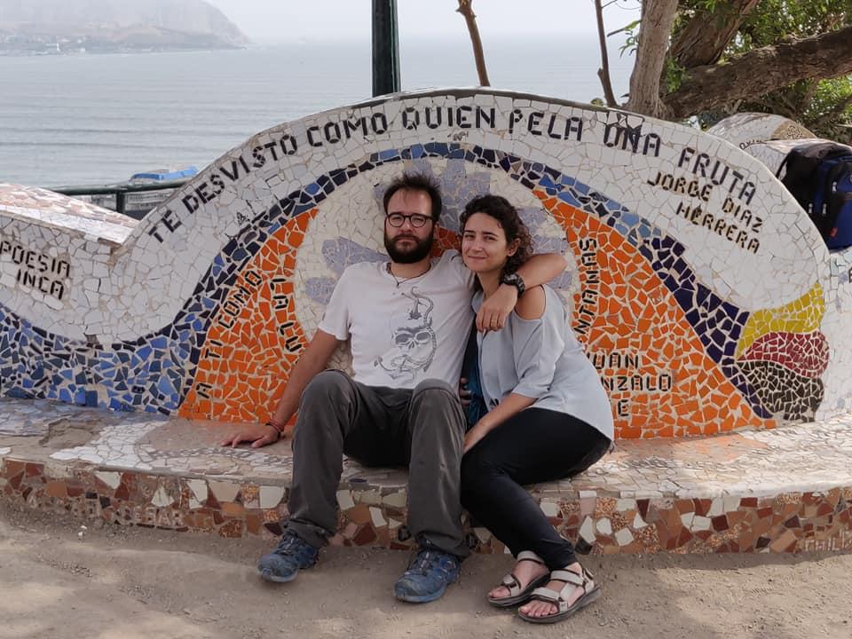 Parque la Pera del Amor a Lima in Perù