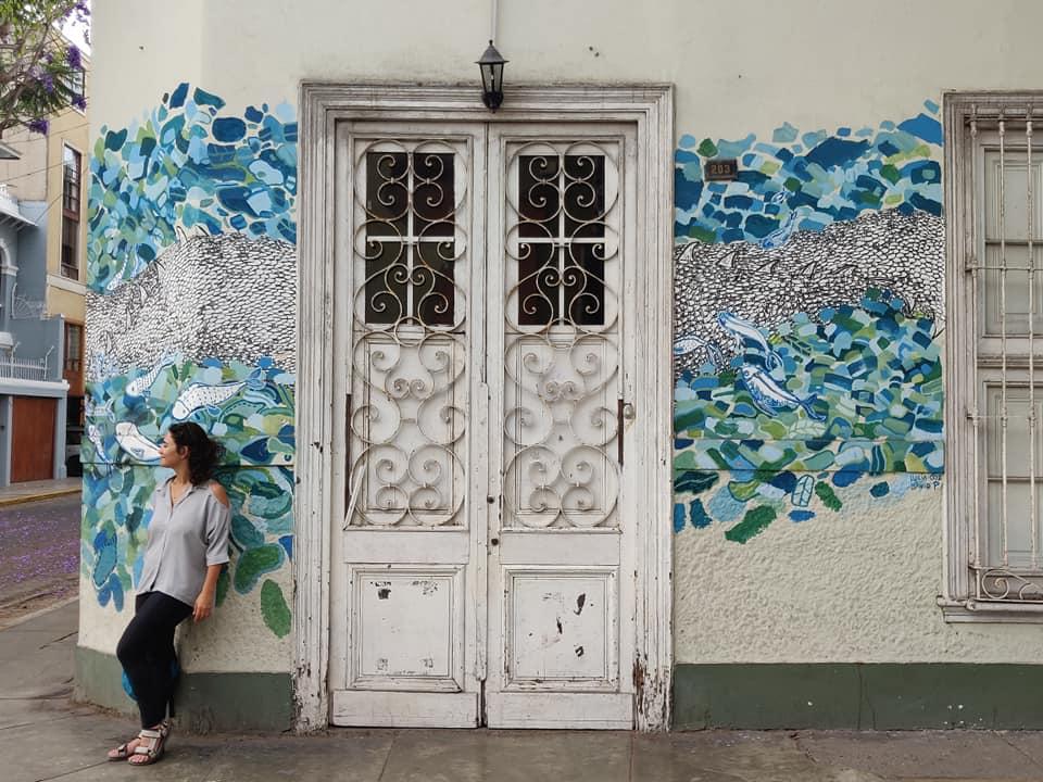 Quartiere Barranco a Lima