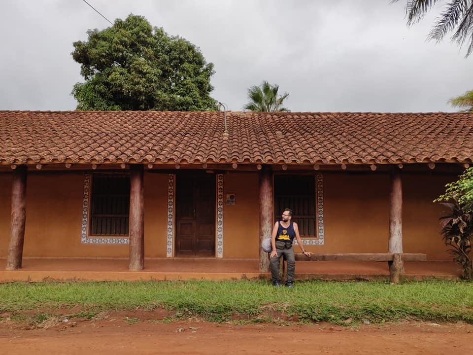 case della città di Concepcion in Bolivia