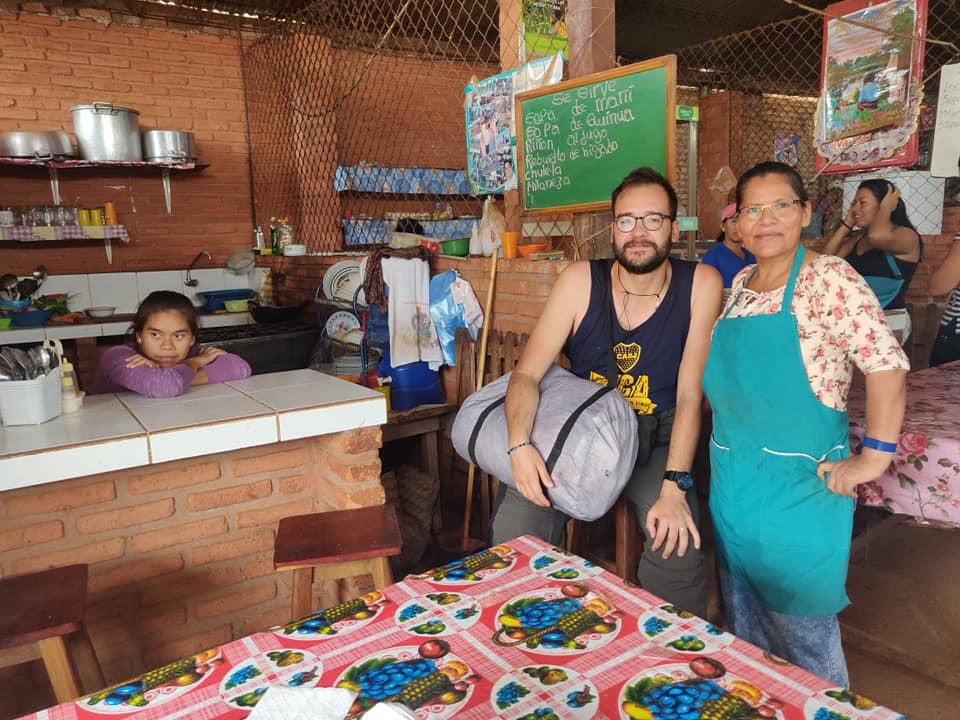 al mercato di San Ignacio de Velasco in Bolivia