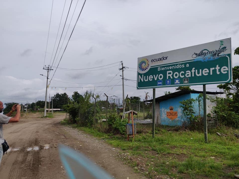 Nuevo Rocafuerte, varco di frontiera ecuadoreno verso il Perù