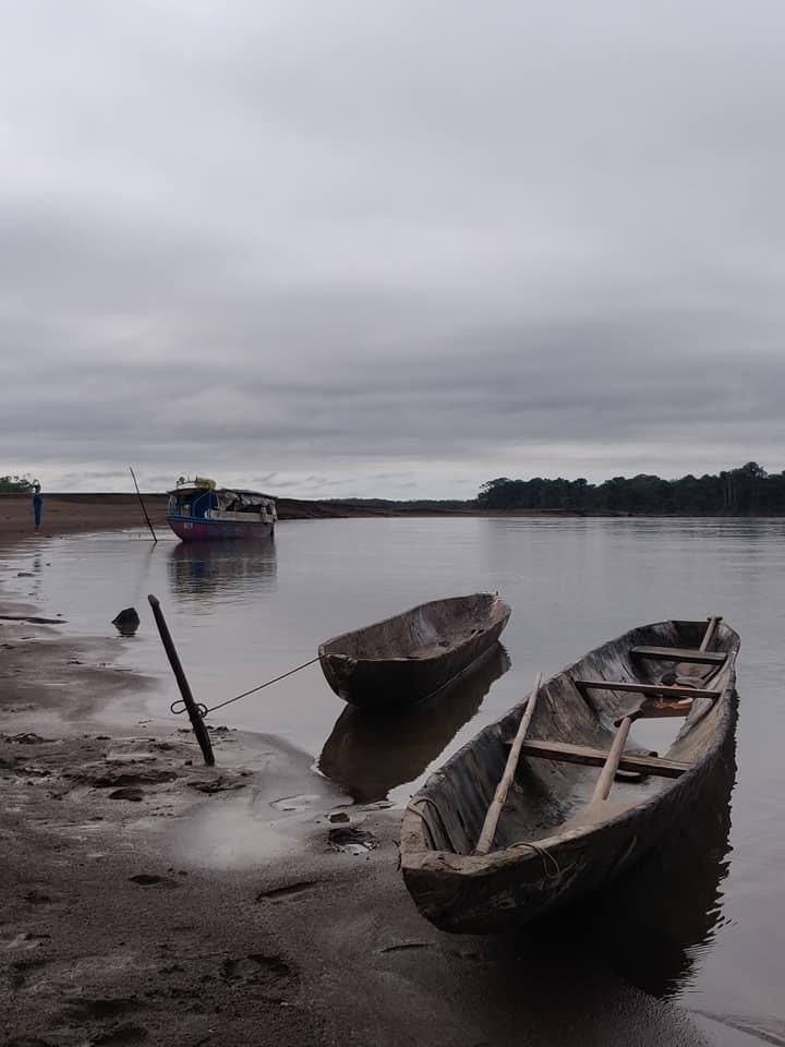 Lungo il fiume Napo poco oltre Santa Clotilde