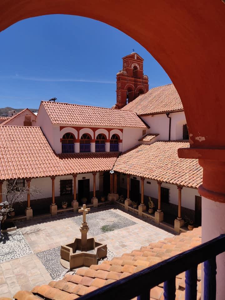 convento di santa teresa a Potosi in Bolivia