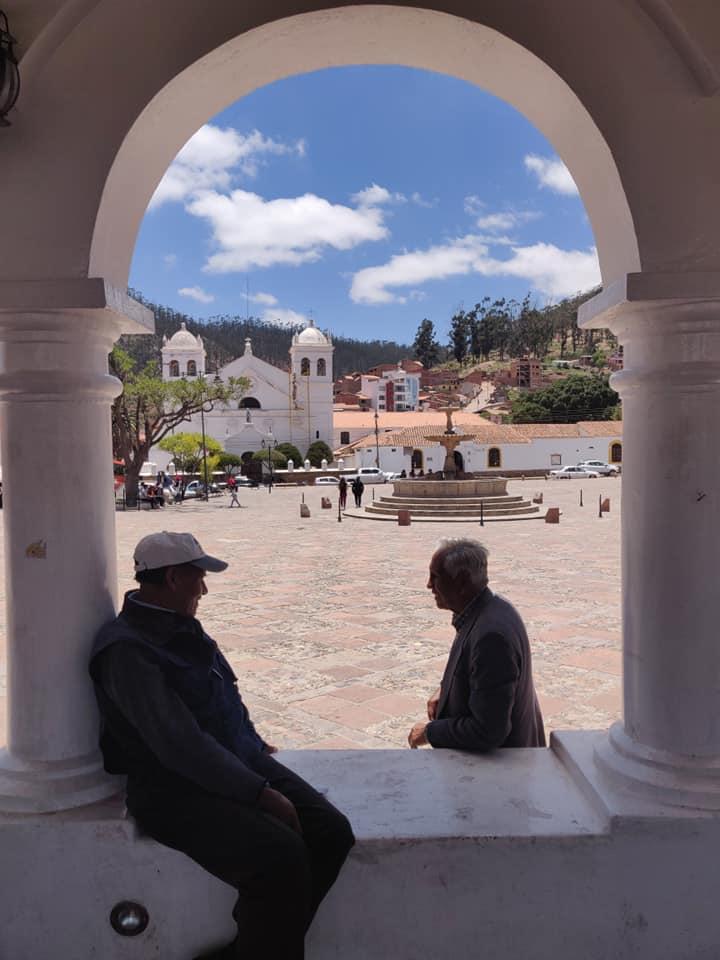 vecchi locali sulla cima della Recoleta