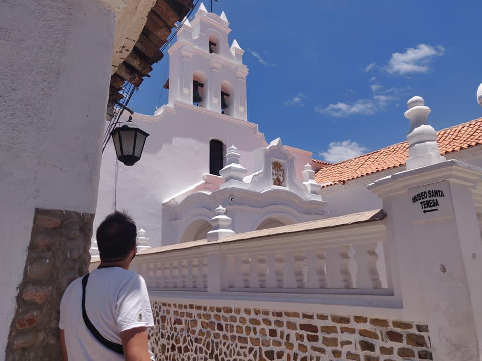 Museo del convento di Santa Teresa a Sucre in Bolivia