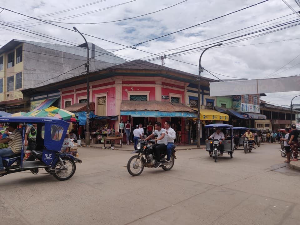 Yurimaguas si trova nel dipartimento Loreto in Perù