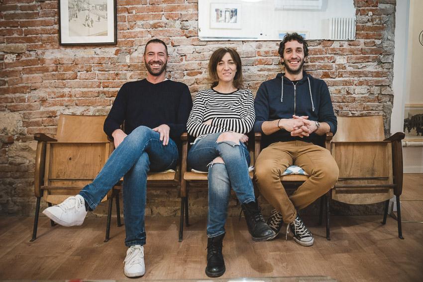 Il team The Hostello a Verona