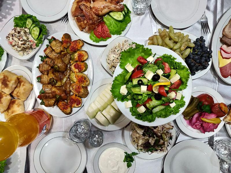 Cena al ristorante Standard di Samarcanda