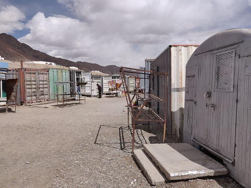 Il mercato di Murghab sull'altopiano del Pamir