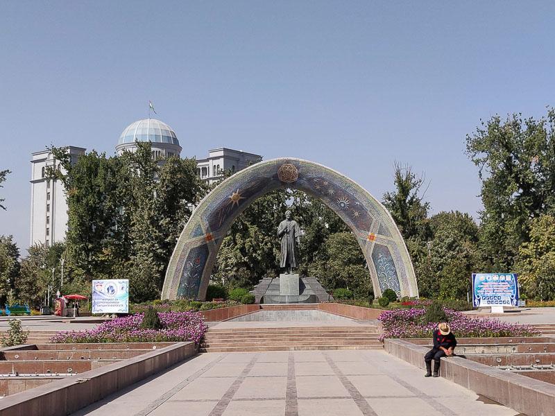 Rudaki Park a Dushanbe
