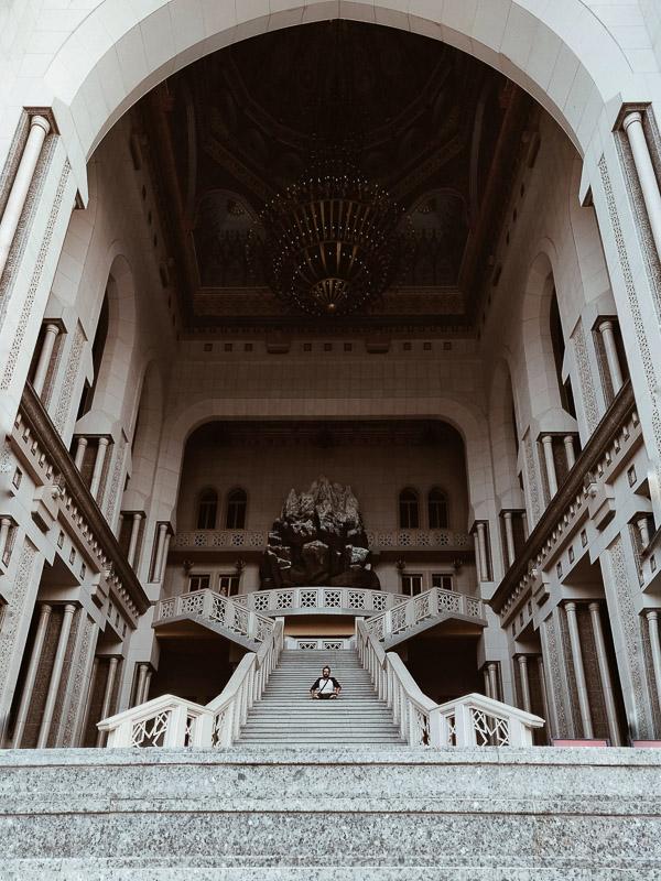 Un palazzo di Dushanbe