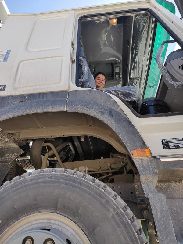 Altopiano del Pamir in Tagikistan: utostop in camion