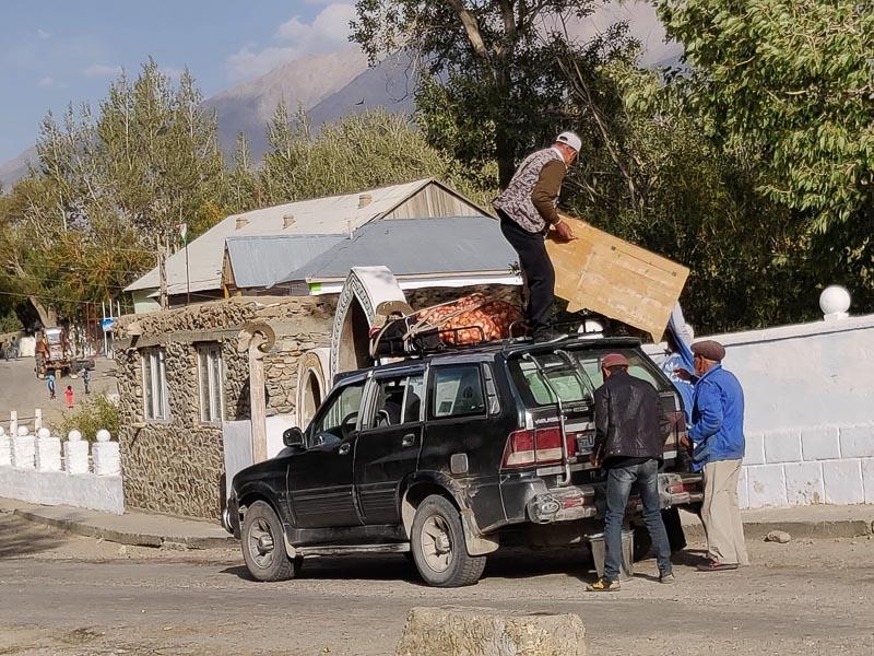 Altopiano del Pamir: Taxi condiviso in Tagikistan