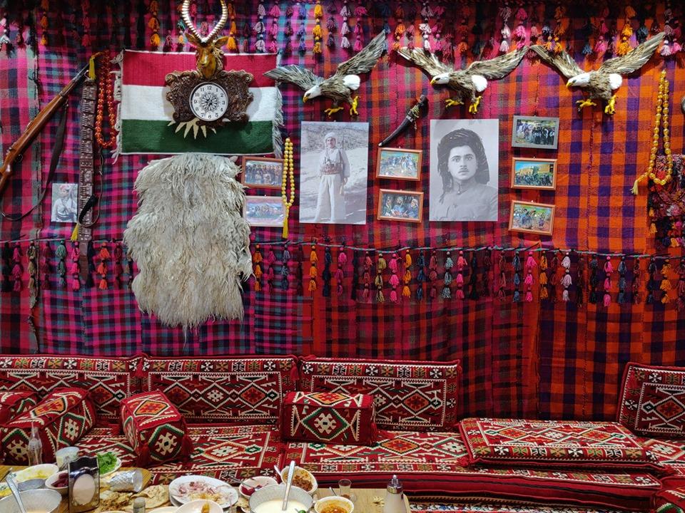 Ristorante Tam Dar, tipico curdo ad Erbil