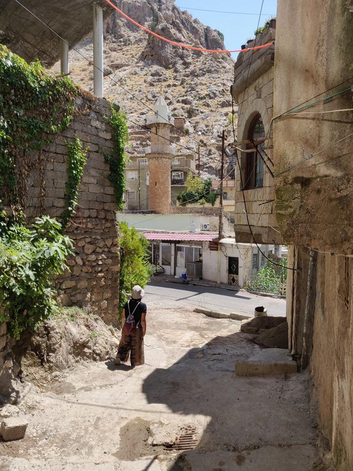 per le strade di Aqrah