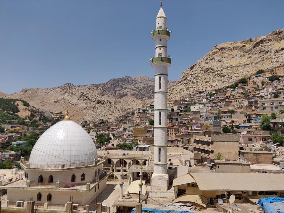 vista di Aqrah in Kurdistan