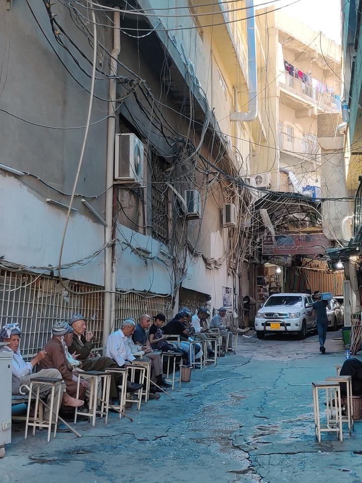 L'ora del The in Iraq é sacra: e Dohuk in Kurdistan non fa eccezione
