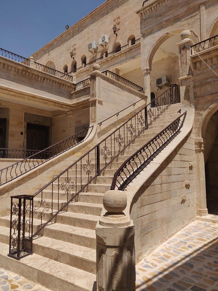 dettagli del monastero Mar Mattai