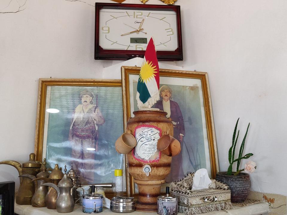 Altare domestico dedicato alla famiglia in Kurdistan