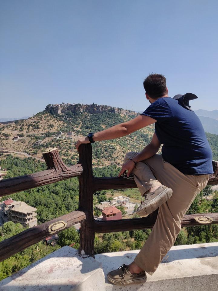 Panorama di Amedhi da Sulav
