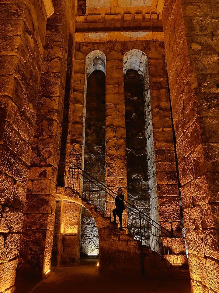 Una delle cisterne romane di Dara, a pochi km da Mardin